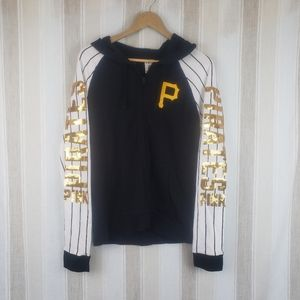Pink VS Pittsburgh Pirates Hoodie Jacket Sz Large